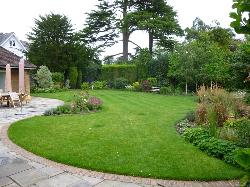 Harrison fitzroy landscape design construction and for Garden design reigate